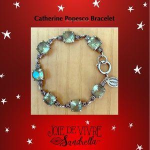Catherine Popesco Bracelet- Soft Green